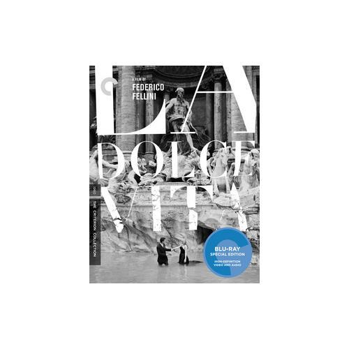 LA DOLCE VITA (1960/BLU-RAY/B&W/WS 2.35/ITALIAN W/ENG SUB) 715515128919