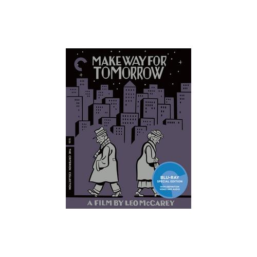 MAKE WAY FOR TOMORROW (BLU-RAY/1937/FF 1.33/B&W) 715515147019