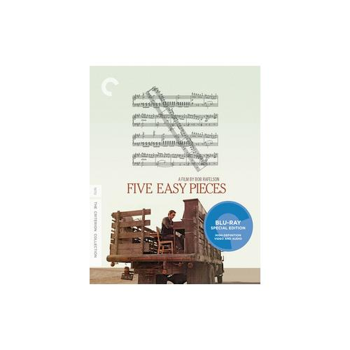 FIVE EASY PIECES (BLU-RAY/1970/WS 1.85/MONAURAL) 715515149112