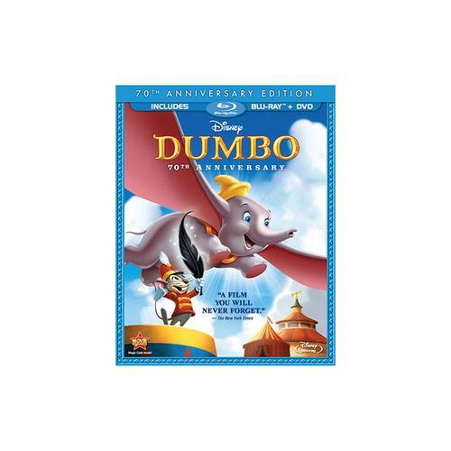DUMBO-70TH ANNIVERSARY EDITION (BR/DVD/2 DISC COMBO/FS) BR PKG 786936797725