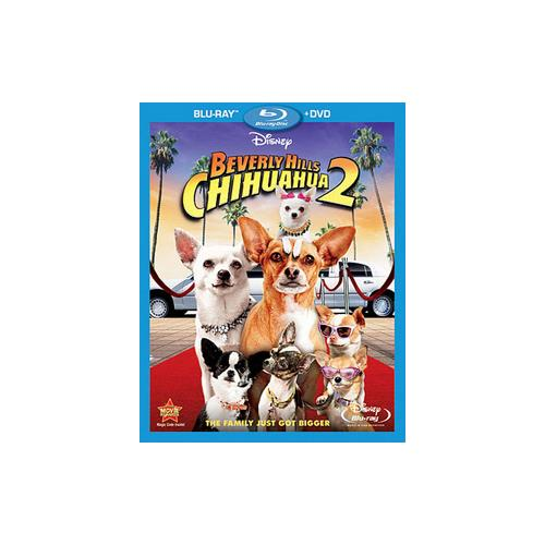 BEVERLY HILLS CHIHUAHUA 2 (BLU-RAY/DVD/COMBO/WS/2 DISC/ENG-FR-SP SUB) 786936806328