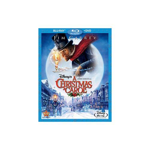 DISNEYS CHRISTMAS CAROL-COMBO PACK (2 DISCS/BLU-RAY/DVD) 786936808520