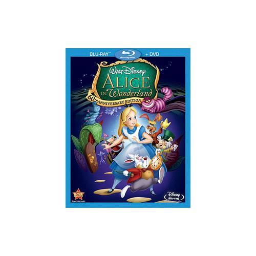 ALICE IN WONDERLAND-60TH ANNIVERSARY EDITION (BLU-RAY/DVD/COMBO) 786936808629