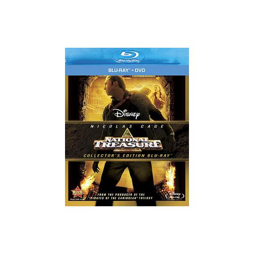 NATIONAL TREASURE (BLU-RAY/DVD/2 DISC COMBO) 786936811346