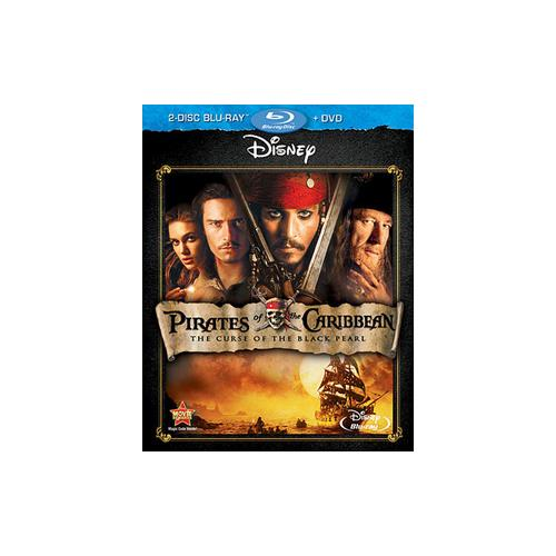 PIRATES OF THE CARIBBEAN CURSE OF THE BLACK PEARL (BR/DVD/2 DISC COMBO) 786936812541