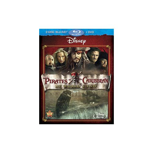 PIRATES OF THE CARIBBEAN AT WORLDS END (BR/DVD/2 DISC COMBO) 786936812602