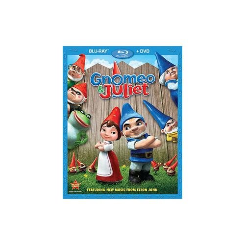 GNOMEO & JULIET (BLU-RAY/DVD/2 DISC COMBO/WS-1.85/ENG-SP SUB) 786936812657