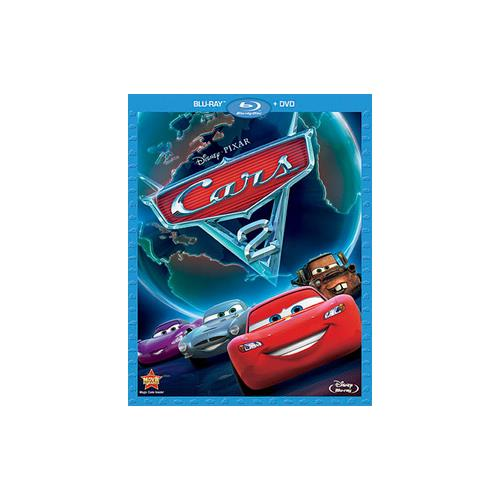 CARS 2 (BLU-RAY/DVD/2 DISC COMBO) BR-PKG 786936818239