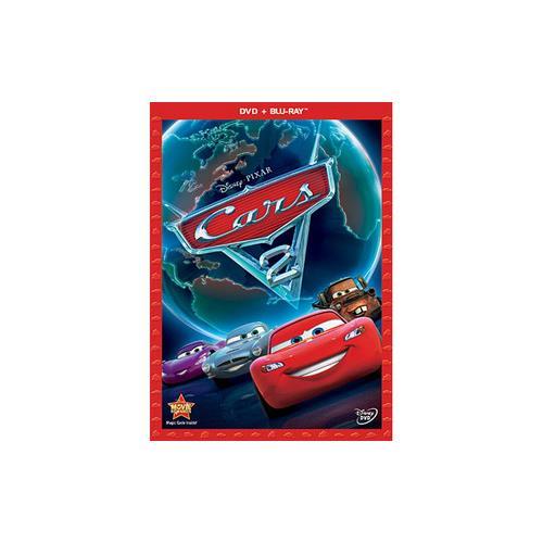 CARS 2 (DVD/BLU-RAY/2 DISC COMBO) DVD-PKG 786936818802