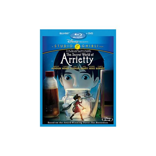 SECRET WORLD OF ARRIETTY (BLU-RAY/DVD/2 DISC/COMBO/WS/ENG SDH-FR SUB) 786936819946