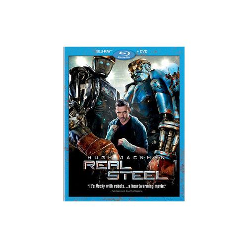 REAL STEEL (BLU-RAY/DVD/2 DISC/WS-2.35/ENG-FR-SP SUB) 786936821383