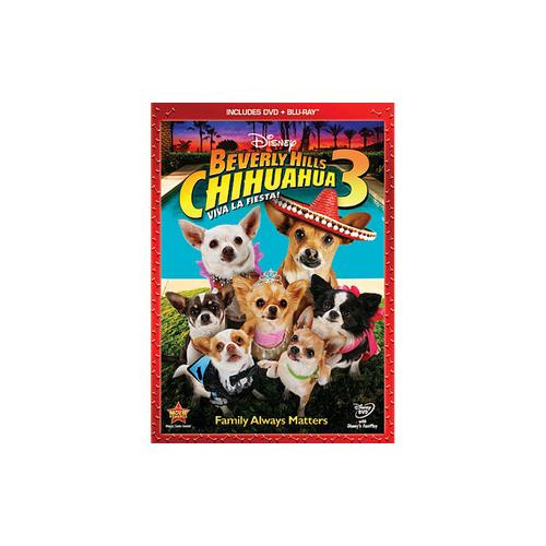 BEVERLY HILLS CHIHUAHUA 3 (BLU-RAY/DVD/COMBO/WS/2 DISC) DVD PKG 786936821772