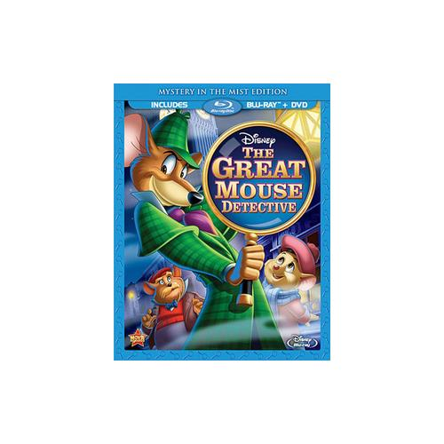 GREAT MOUSE DETECTIVE (BLU-RAY/DVD/2 DISC/SPECIAL EDITION/WS/ENG-FR-SP SUB) 786936825022