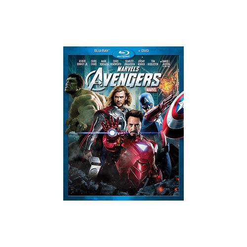 AVENGERS (MARVEL) (BLU-RAY/DVD/2 DISCS COMBO/WS) BR-PKG 786936825084