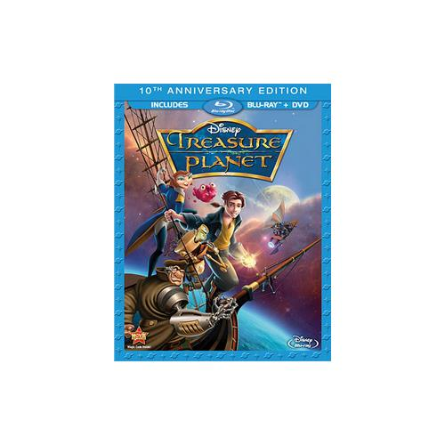 TREASURE PLANET-10TH ANNIVERSARY EDITION (BLU-RAY/DVD/2 DISC COMBO/WS) 786936825428