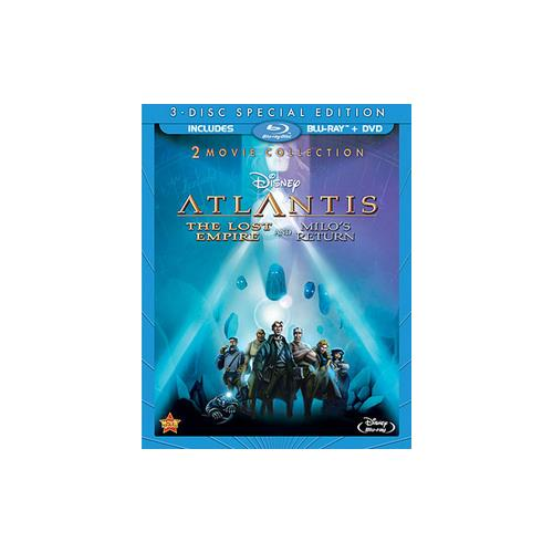 ATLANTIS-LOST EMPIRE/MILOS RETURN 2-MOVIE COLL (BLU-RAY/DVD-2/WS) 786936827682