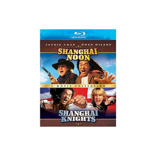 SHANGHAI NOON/SHANGHAI KNIGHTS-2 MOVIE COLLECTION (BLU-RAY/2PK) 786936828764