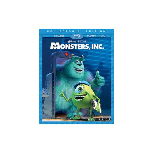 MONSTERS INC (BLU-RAY/DVD/3 DISC COMBO) BR PKG 786936829679