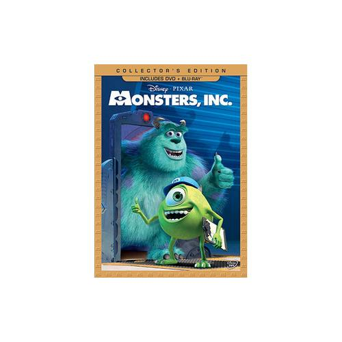 MONSTERS INC (DVD/BLU-RAY/3 DISC COMBO) DVD PKG 786936829754