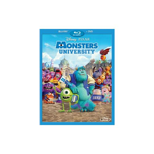 MONSTERS UNIVERSITY (BLU-RAY/DVD/BONUS/3 DISC) 786936831757