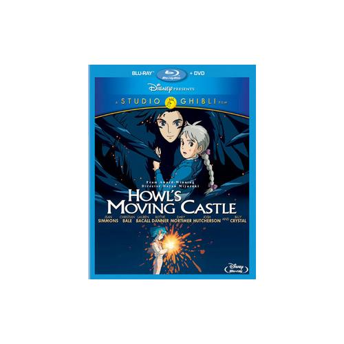 HOWLS MOVING CASTLE (BLU-RAY/DVD/2 DISC/COMBO/WS) 786936833409