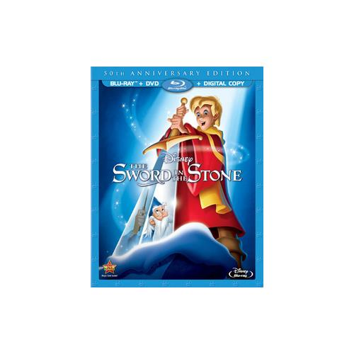 SWORD IN THE STONE-50TH ANNIVERSARY EDITION (BLU-RAY/DVD/DC) 786936834901