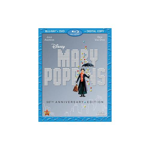 MARY POPPINS 50TH ANNIVERSARY EDITION (BLU-RAY/DVD/DC/2 DISC) 786936836110