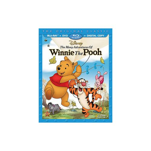 WINNIE THE POOH-MANY ADVENTURES OF-SPECIAL ED (BLU-RAY/DVD/DC/KITE) 786936836356