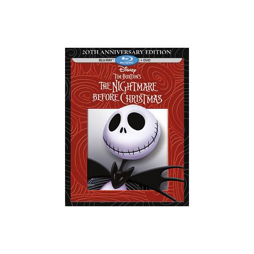 NIGHTMARE BEFORE CHRISTMAS-20TH ANNIVERSARY (BLU-RAY/DVD/2 DISC) 786936836769