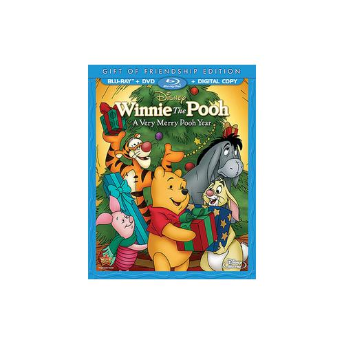 WINNIE THE POOH-VERY MERRY POOH YEAR-SPECIAL EDITION (BLU-RAY/DVD/DC) 786936837049