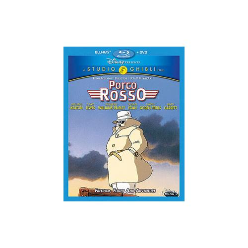 PORCO ROSSO (BLU-RAY/DVD/2 DISC COMBO) 786936840254