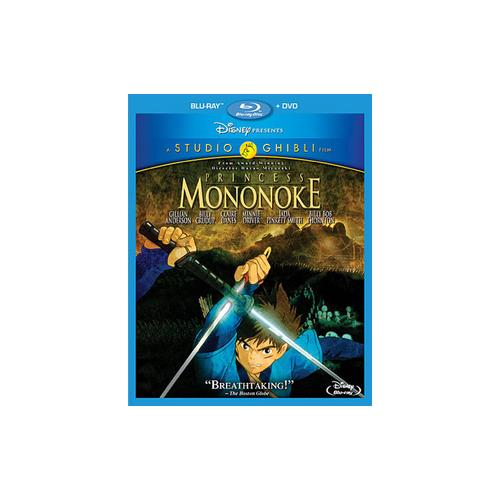 PRINCESS MONONOKE (BLU-RAY/DVD/2 DISC) 786936840261