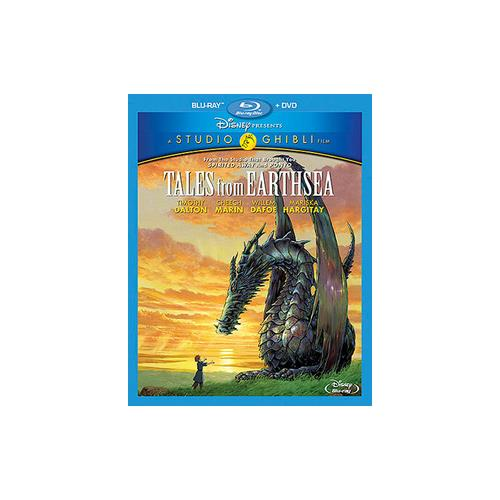 TALES FROM EARTHSEA (BLU-RAY/DVD/2 DISC COMBO) 786936840285