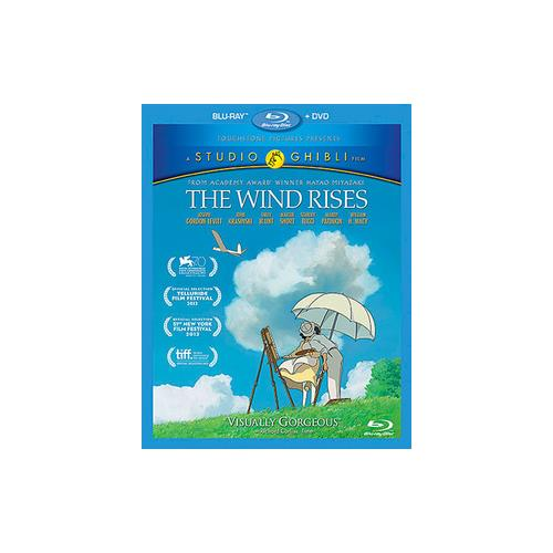 WIND RISES (BLU-RAY/DVD/2 DISC COMBO) 786936840322