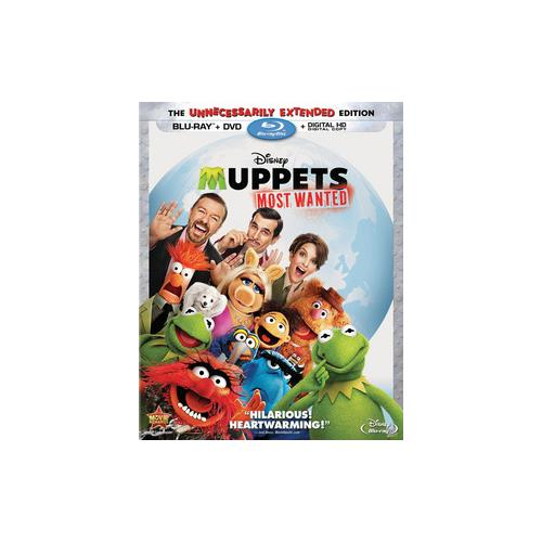 MUPPETS-MOST WANTED (BLU-RAY/DVD/DC/2 DISC COMBO) 786936841725