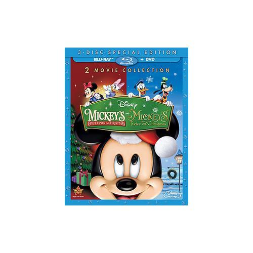 MICKEYS ONCE UPON A CHRISTMAS/TWICE UPON A CHRISTMAS (BLU-RAY/DVD-2) 786936843903