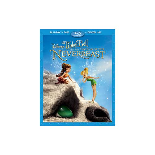 TINKER BELL & THE LEGEND OF THE NEVERBEAST (BR/DVD/DHD/2 DISC COMBO) 786936844221