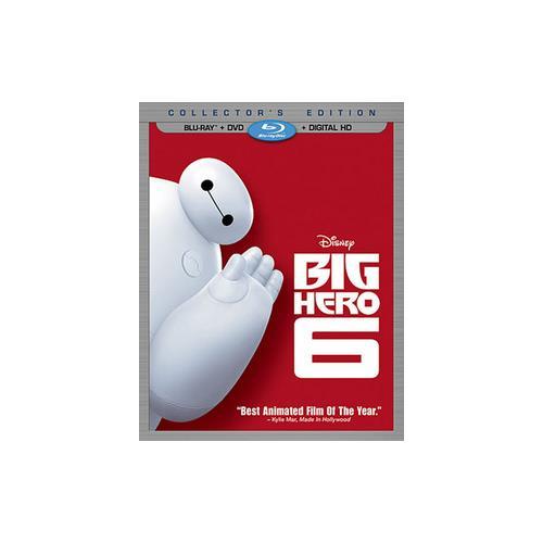 BIG HERO 6 (BLU-RAY/DVD/DIGITAL HD/2 DISC) 786936844801