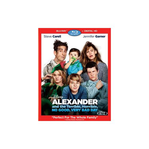ALEXANDER & THE TERRIBLE HORRIBLE NO GOOD VERY BAD DAY (BLU-RAY/DHD) 786936844979
