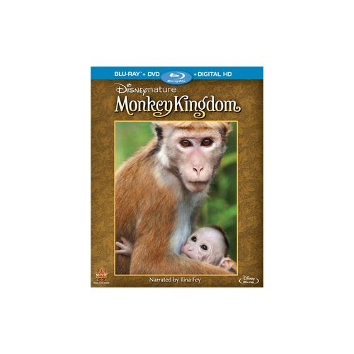 DISNEYNATURE-MONKEY KINGDOM (BLU-RAY/DVD/DIGITAL HD/2 DISC) 786936846607