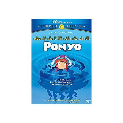 PONYO (DVD/2 DISC/WS 1.85/ENG-SP-SUB/JA-FR-BOTH) 786936791754