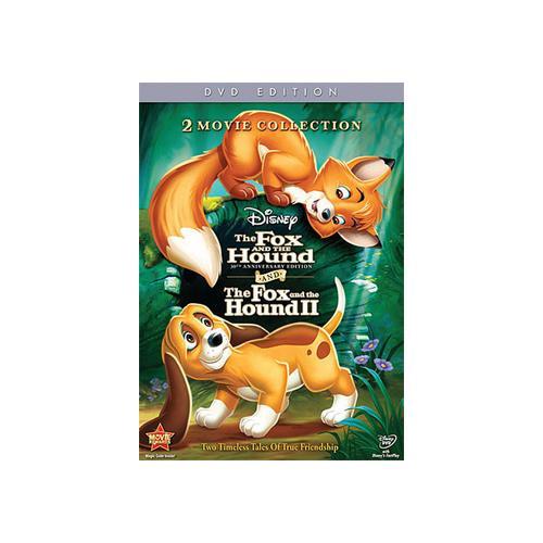 FOX & THE HOUND-30TH ANNIVERSARY 1&2 (DVD/2 DISC/WS/ENG-SDH-FR-SP SUB) 786936816648