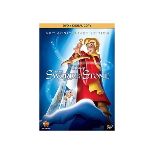 SWORD IN THE STONE-50TH ANNIVERSARY EDITION (DVD/DC) 786936834925