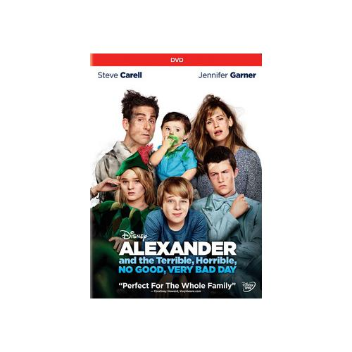 ALEXANDER & THE TERRIBLE HORRIBLE NO GOOD VERY BAD DAY (DVD) 786936842821