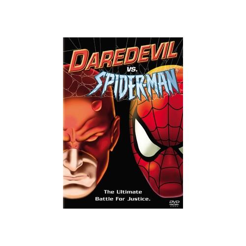 DAREDEVIL VS SPIDERMAN (DVD) 786936203196