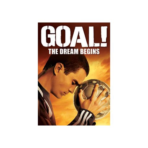 GOAL-DREAM BEGINS (DVD/WS 2.40/DD 5.1/FR-DUB/SP-BOTH) 786936700275