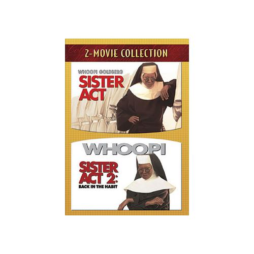 SISTER ACT 1/SISTER ACT 2-BACK IN THE HABIT (DVD/2 DISC) 786936744156