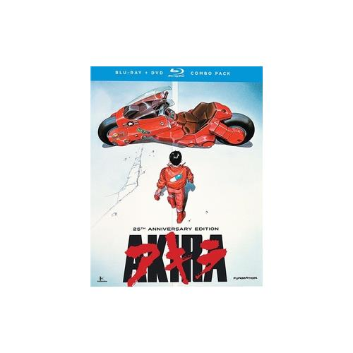 AKIRA-MOVIE BLU RAY/DVD COMBO (2DISCS) 704400094187