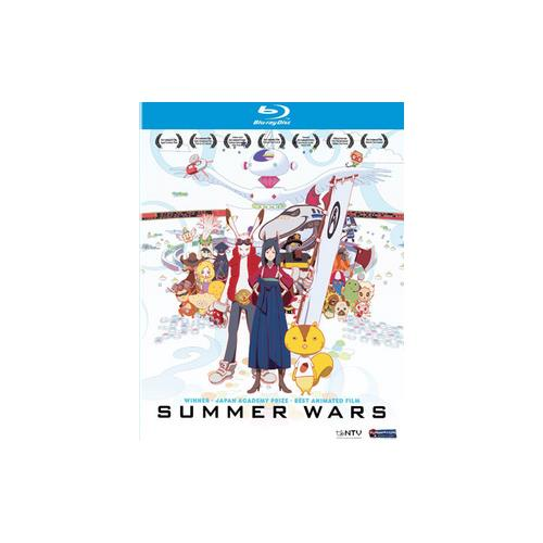 SUMMER WARS BLU RAY/DVD COMBO 704400094972