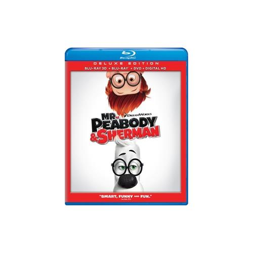 MR PEABODY & SHERMAN (BLU-RAY/DVD/3D/DHD/3 DISC/WS-1.85) (3-D) 24543869528